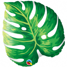 Tropical Philodendron Large Foil Balloon 1pc